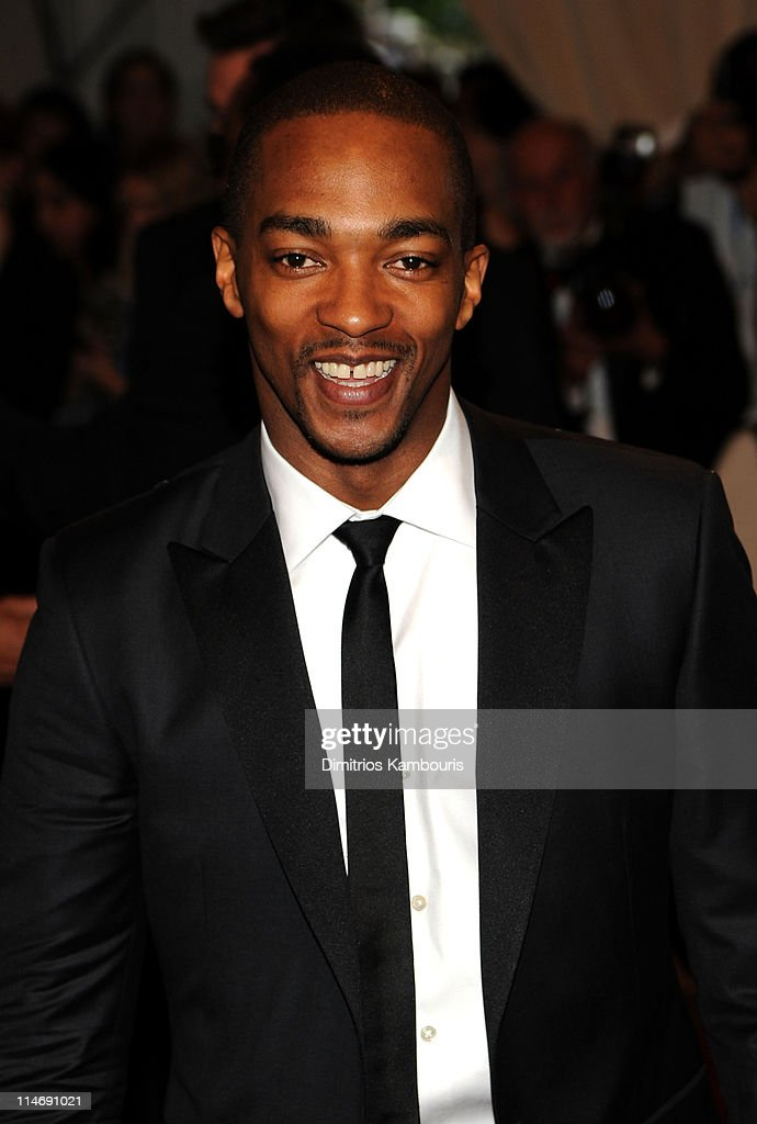 Actor <a gi-track='captionPersonalityLinkClicked' href=/galleries/search?phrase=Anthony+Mackie&family=editorial&specificpeople=206212 ng-click='$event.stopPropagation()'>Anthony Mackie</a> attends the Costume Institute Gala Benefit to celebrate the opening of the 'American Woman: Fashioning a National Identity' exhibition at The Metropolitan Museum of Art on May 3, 2010 in New York City.