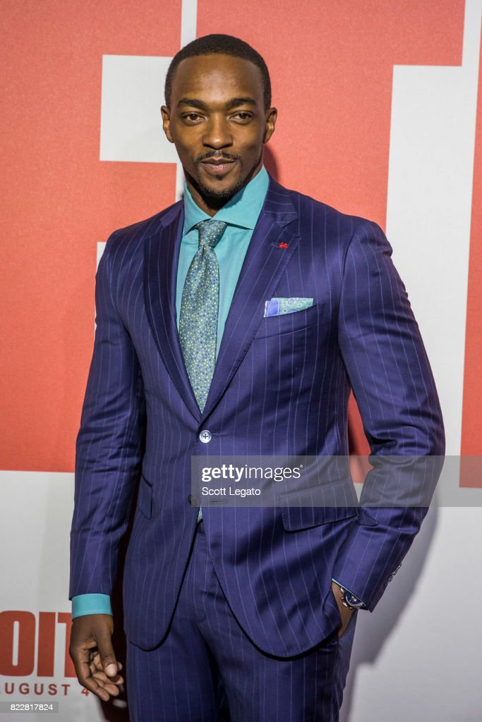 Actor Anthony Mackie attends the 'Detroit' world premiere at Fox Theatre on July 25, 2017 in Detroit, Michigan.