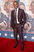Actor Anthony Mackie attends the premiere of HBO's 'All The Way' at Paramount Studios on May 10 2016 in Hollywood California
