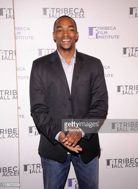 Actor Anthony Mackie attends the TAA Kick Off Event at the 9th Annual Tribeca Film Festival at Hiro Ballroom at The Maritime Hotel on April 19 2010...