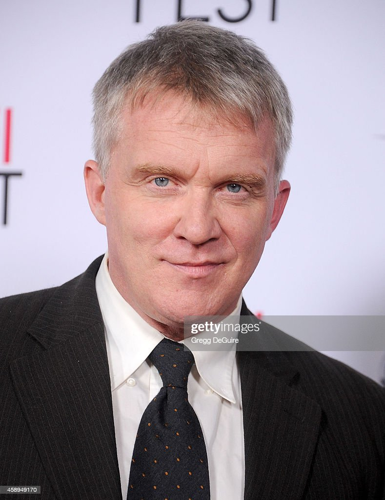 Actor <a gi-track='captionPersonalityLinkClicked' href=/galleries/search?phrase=Anthony+Michael+Hall&family=editorial&specificpeople=213221 ng-click='$event.stopPropagation()'>Anthony Michael Hall</a> arrives at the AFI FEST 2014 Presented By Audi - Closing Night Gala Premiere of 'Foxcatcher' at Dolby Theatre on November 13, 2014 in Hollywood, California.