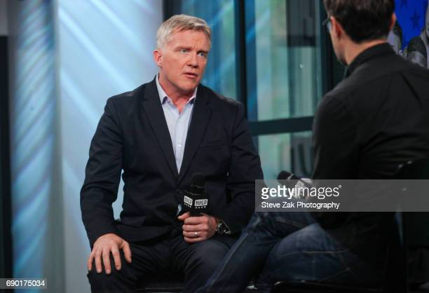 Actor Anthony Michael Hall attends Build Series to discuss his new film 'War Machine' at Build Studio on May 30 2017 in New York City