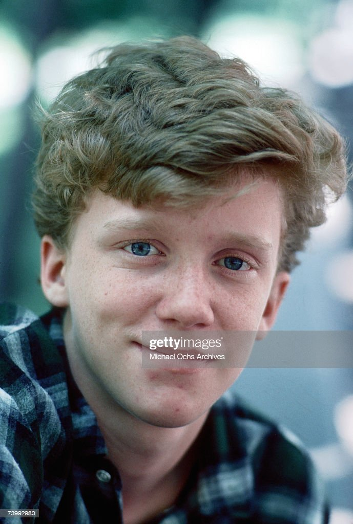 Actor Anthony Michael Hall poses for a portrait session in 1984.
