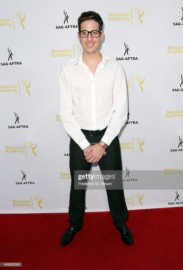 Actor Anthony Pazos attends the Television Academy and SAG-AFTRA Presents Dynamic & Diverse: A 66th Emmy Awards Celebration of Diversity at the Leonard H. Goldenson Theatre on August 12, 2014 in North Hollywood, California.