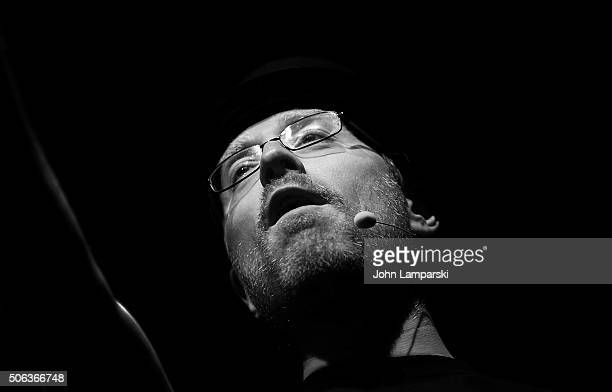 Actor Anthony Rapp attends BroadwayCon 2016 at the Hilton Midtown January 22 2016 in New York City