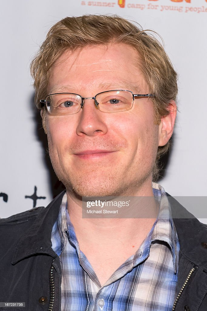 Actor <a gi-track='captionPersonalityLinkClicked' href=/galleries/search?phrase=Anthony+Rapp&family=editorial&specificpeople=584008 ng-click='$event.stopPropagation()'>Anthony Rapp</a> attends Our Time's 11th Annual Benefit Gala at the Jack H. Skirball Center for the Performing Arts on April 22, 2013 in New York City.