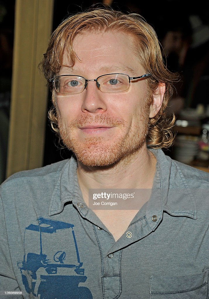 Actor <a gi-track='captionPersonalityLinkClicked' href=/galleries/search?phrase=Anthony+Rapp&family=editorial&specificpeople=584008 ng-click='$event.stopPropagation()'>Anthony Rapp</a> attends the 25th annual Broadway Flea Market at The Bernard B. Jacobs Theatre on September 25, 2011 in New York City.