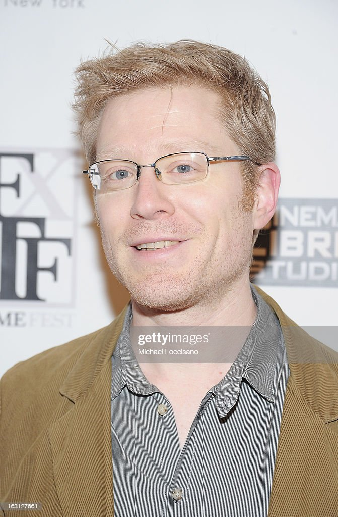 Actor <a gi-track='captionPersonalityLinkClicked' href=/galleries/search?phrase=Anthony+Rapp&family=editorial&specificpeople=584008 ng-click='$event.stopPropagation()'>Anthony Rapp</a> attends the closing night awards during the 2013 First Time Fest at The Players Club on March 4, 2013 in New York City.
