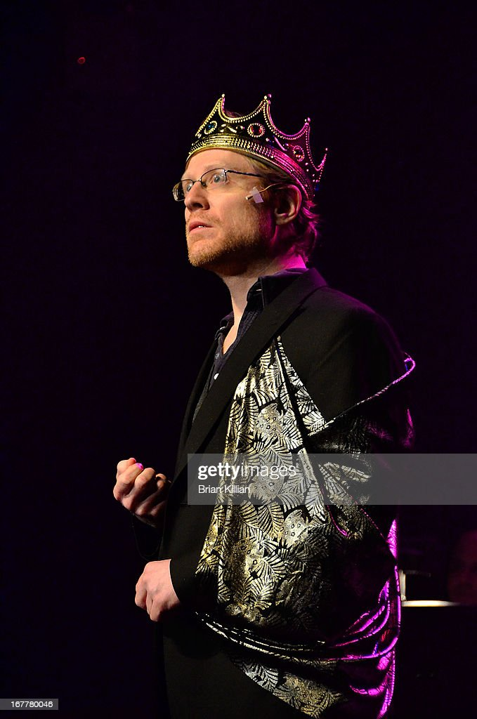 Actor Anthony Rapp performs during the 24 Hour Musicals 2013 at the Gramercy Theatre on April 29, 2013 in New York City.