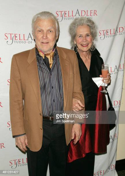 Actor Anthony Zerbe with wife arrives at the 4th Annual Stella by Starlight Gala Benefit Honoring Martin Sheen at Chipriani 23rd st on March 17 2008...