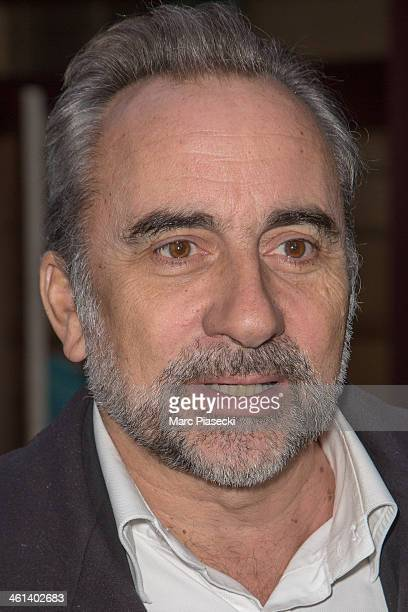 Actor Antoine Dulery arrives at the 'Hier Encore' TV show recording session at L'Olympia on January 8 2014 in Paris France