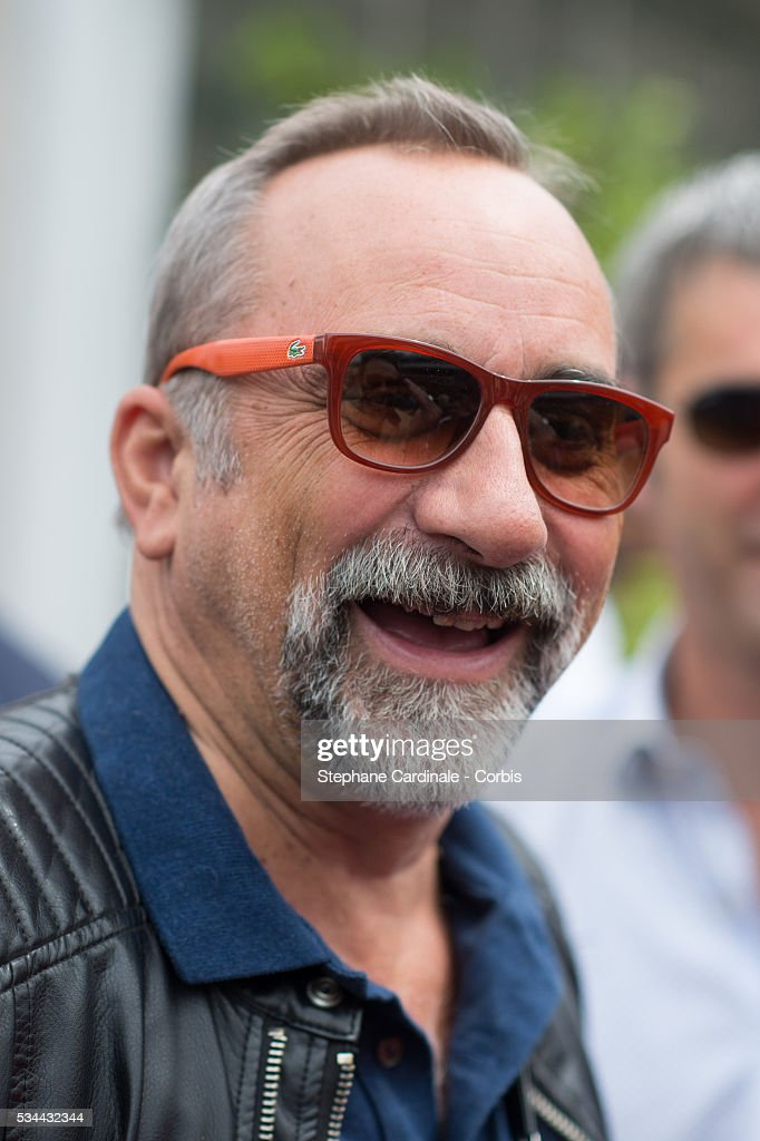 Actor Antoine Dulery attends day five of the 2016 French Open at Roland Garros on May 26, 2016 in Paris, France.