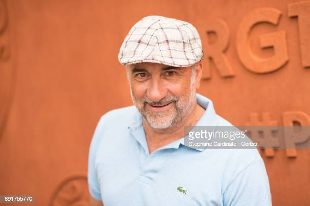 Actor Antoine Dulery attends the 2017 French Tennis Open Day Six at Roland Garros on June 2 2017 in Paris France
