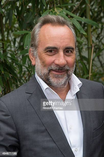 Actor Antoine Dulery attends the Roland Garros French Tennis Open 2014 Day 6 at Roland Garros on May 30 2014 in Paris France