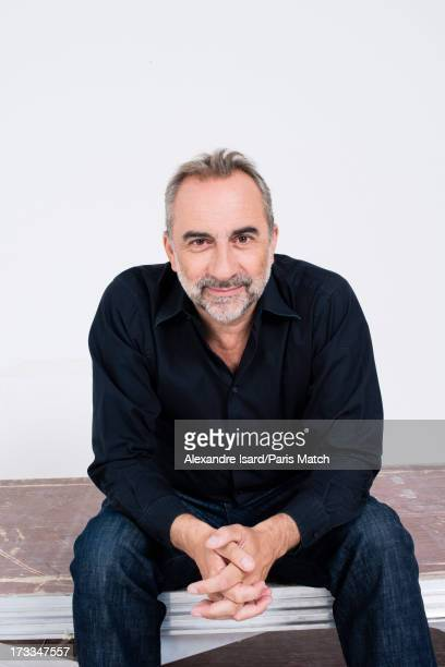 Actor Antoine Dulery is photographed for Paris Match on June 25 2013 in Paris France
