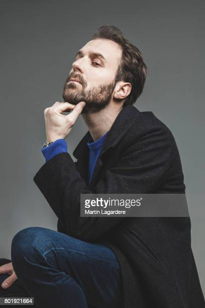 Actor Antoine Gouy is photographed for Self Assignment on March 15 2017 in Paris France