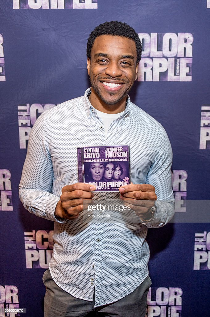 Actor Antoine L. Smith attends 'The Color Purple' Listening Party at W New York - Time Square on February 11, 2016 in New York City.