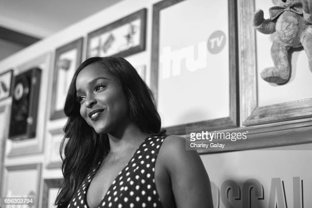 Actor Antoinette Robertson at truTV's 'Upscale with Prentice Penny' Premiere at The London Hotel on March 21 2017 in West Hollywood California...