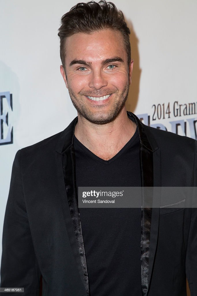 Actor Anton Kasabov attends the Pre-Grammy Celebration Party for Trevor Guthrie on January 25, 2014 in Los Angeles, California.