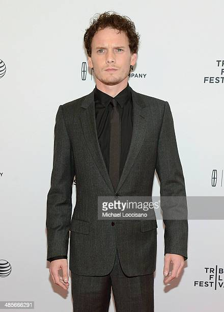 Actor Anton Yelchin attends the '5 To 7' Premiere during the 2014 Tribeca Film Festival at the SVA Theater on April 19 2014 in New York City