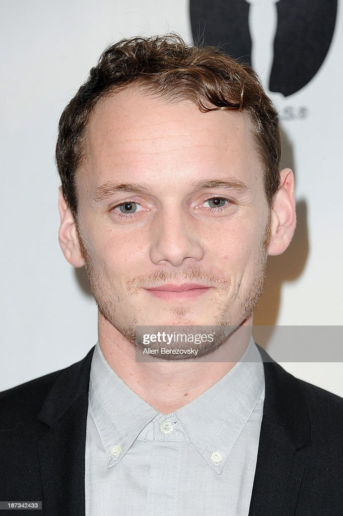 Actor <a gi-track='captionPersonalityLinkClicked' href=/galleries/search?phrase=Anton+Yelchin&family=editorial&specificpeople=793274 ng-click='$event.stopPropagation()'>Anton Yelchin</a> attends the AMPAS Academy Nicholl Fellowships in Screenwriting Awards at AMPAS Samuel Goldwyn Theater on November 7, 2013 in Beverly Hills, California.