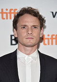 Actor Anton Yelchin attends the 'Green Room' and 'The Chickening' premieres during the 2015 Toronto International Film Festival at Ryerson Theatre on...