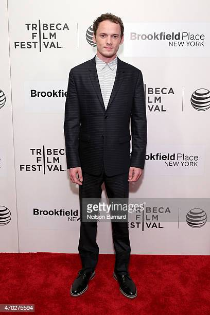 Actor Anton Yelchin attends the premiere of 'The Driftless Area' during the 2015 Tribeca Film Festival at BMCC Tribeca PAC on April 18 2015 in New...