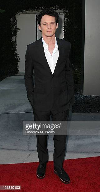 Actor Anton Yelchin attends the Screening of Dreamworks Pictures' 'Fright Night' at the Arclight Hollywood on August 17 2011 in Hollywood California