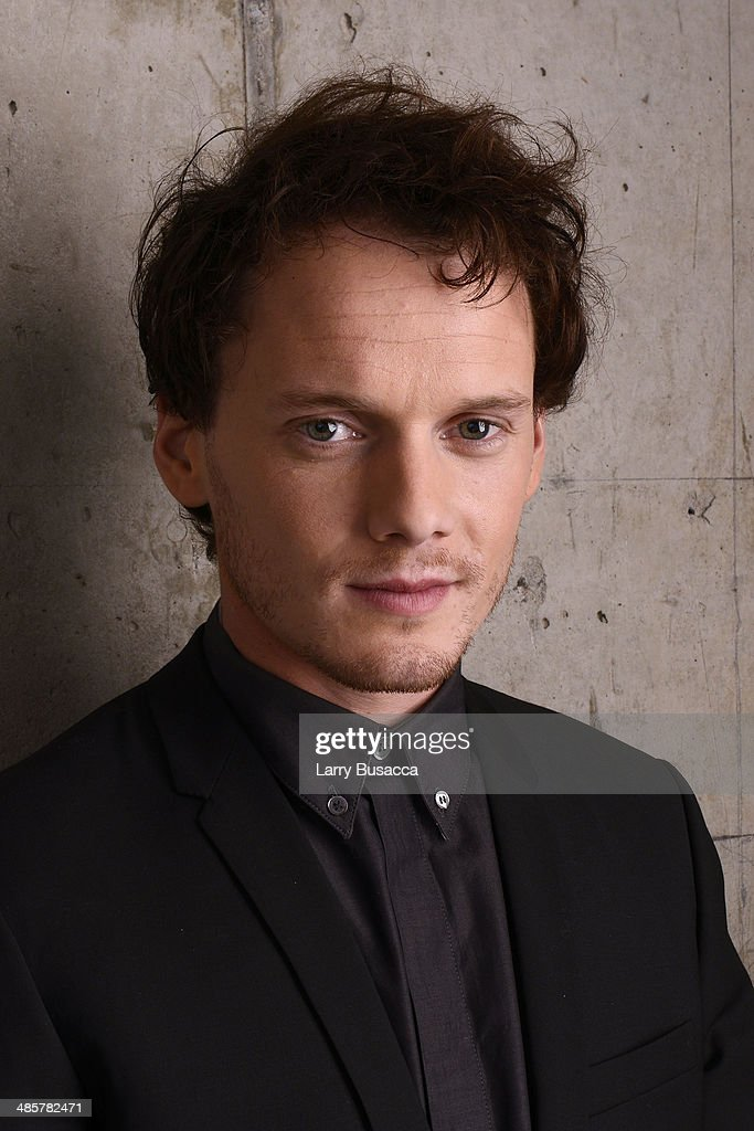 Actor <a gi-track='captionPersonalityLinkClicked' href=/galleries/search?phrase=Anton+Yelchin&family=editorial&specificpeople=793274 ng-click='$event.stopPropagation()'>Anton Yelchin</a> from '5 to 7' poses for the 2014 Tribeca Film Festival Getty Images Studio on April 19, 2014 in New York City.