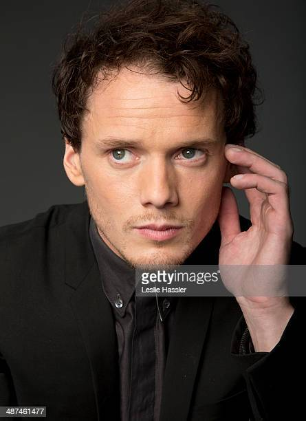 Actor Anton Yelchin is photographed at the Tribeca Film Festival on April 19 2014 in New York City