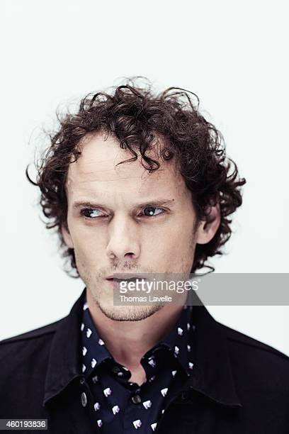Actor Anton Yelchin is photographed for GQ Italy on September 7 2014 in Venice Italy