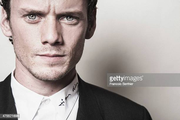 Actor Anton Yelchin is photographed on May 18 2015 in Cannes France