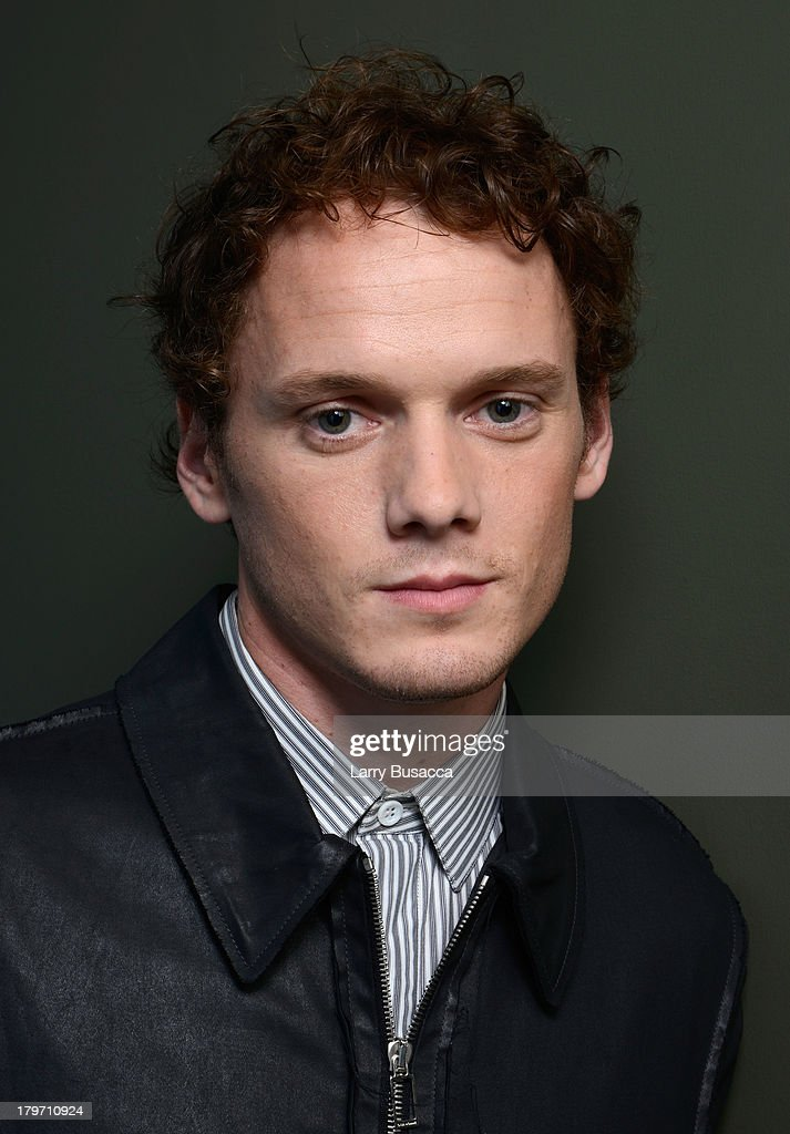 Actor <a gi-track='captionPersonalityLinkClicked' href=/galleries/search?phrase=Anton+Yelchin&family=editorial&specificpeople=793274 ng-click='$event.stopPropagation()'>Anton Yelchin</a> of 'Only Lovers Left Alive' poses at the Guess Portrait Studio during 2013 Toronto International Film Festival on September 6, 2013 in Toronto, Canada.