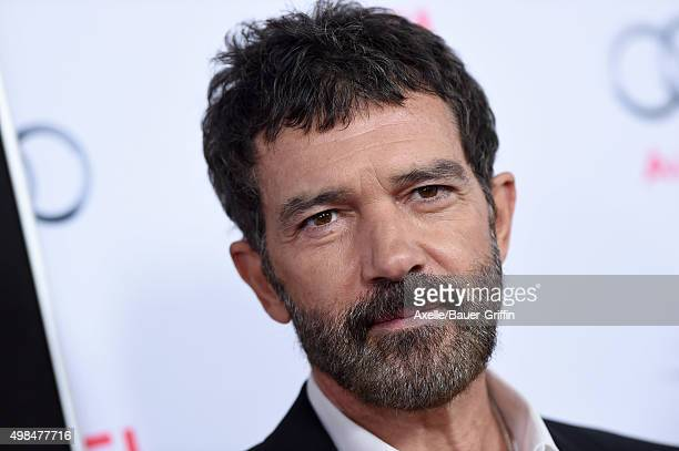 Actor Antonio Banderas arrives at the AFI FEST 2015 Presented By Audi Centerpiece Gala Premiere of 'The 33' at TCL Chinese Theatre on November 9 2015...