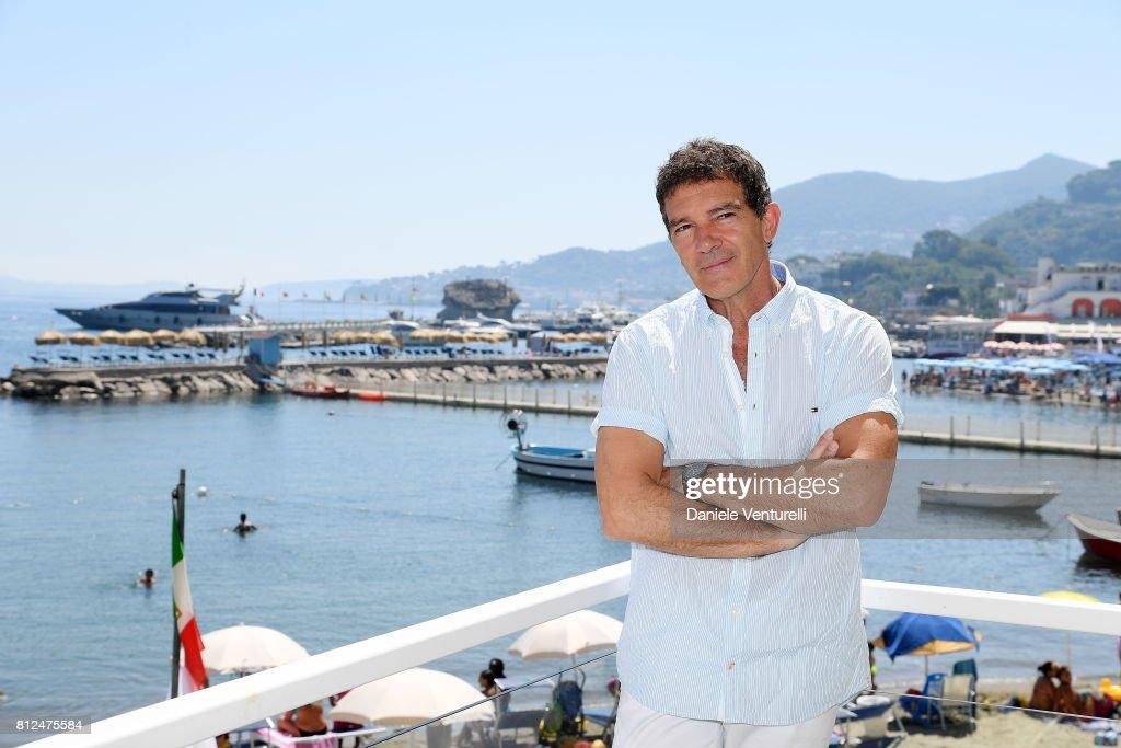 Actor Antonio Banderas attends 2017 Ischia Global Film & Music Fest on July 11, 2017 in Ischia, Italy.
