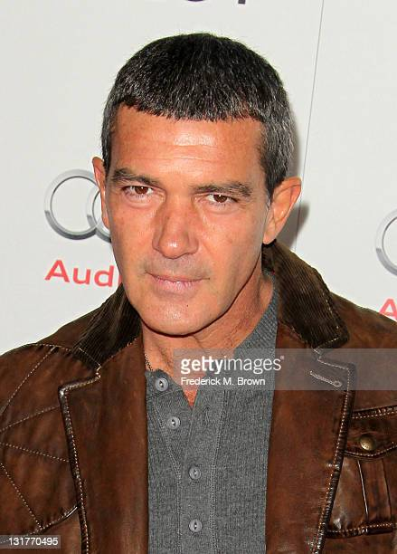 Actor Antonio Banderas attends an evening with Pedro Almodovar and screening of 'Law Of Desire' during AFI FEST 2011 presented by Audi at Grauman's...
