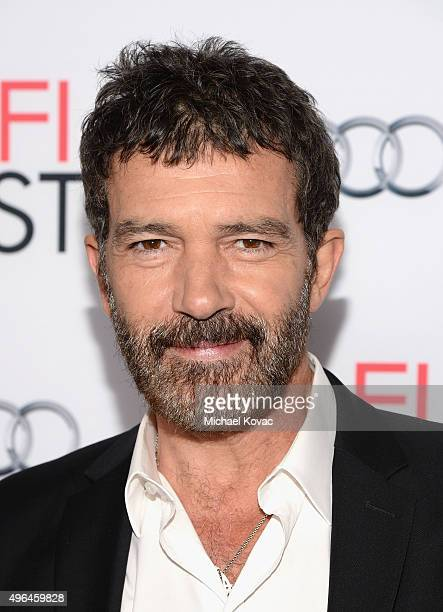 Actor Antonio Banderas attends the Centerpiece Gala Premiere of Alcon Entertainment's 'The 33' during AFI FEST 2015 presented by Audi at TCL Chinese...