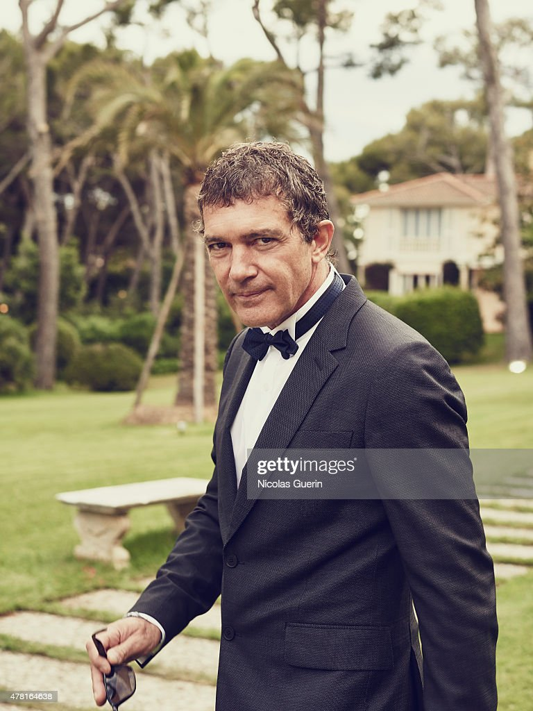 Actor <a gi-track='captionPersonalityLinkClicked' href=/galleries/search?phrase=Antonio+Banderas&family=editorial&specificpeople=171176 ng-click='$event.stopPropagation()'>Antonio Banderas</a> is photographed for Self Assignment on May 15, 2015 in Cannes, France.