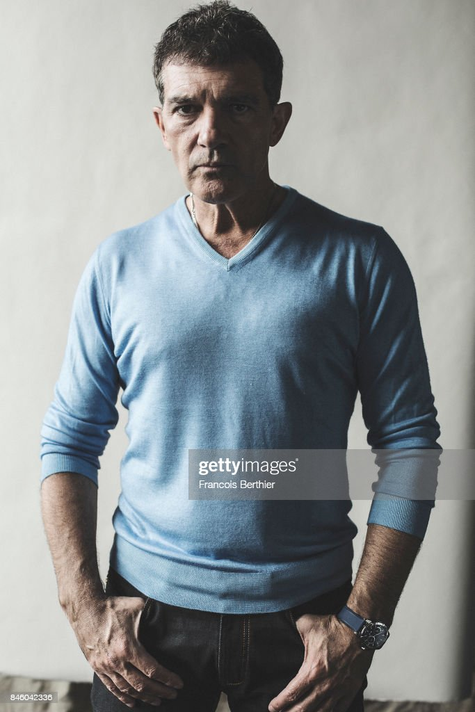 Actor Antonio Banderas is photographed on September 6, 2017 in Deauville, France.
