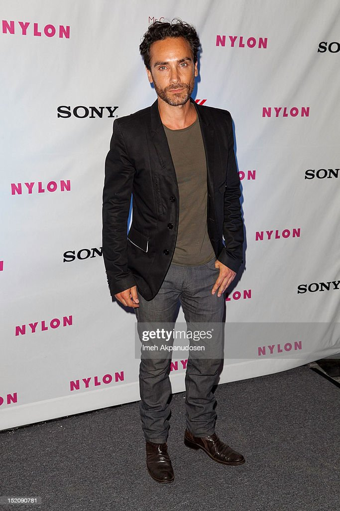 Actor Antonio Del Prete attends the NYLON And Sony X Headphones September TV Issue Party at Mr. C Beverly Hills on September 15, 2012 in Beverly Hills, California.