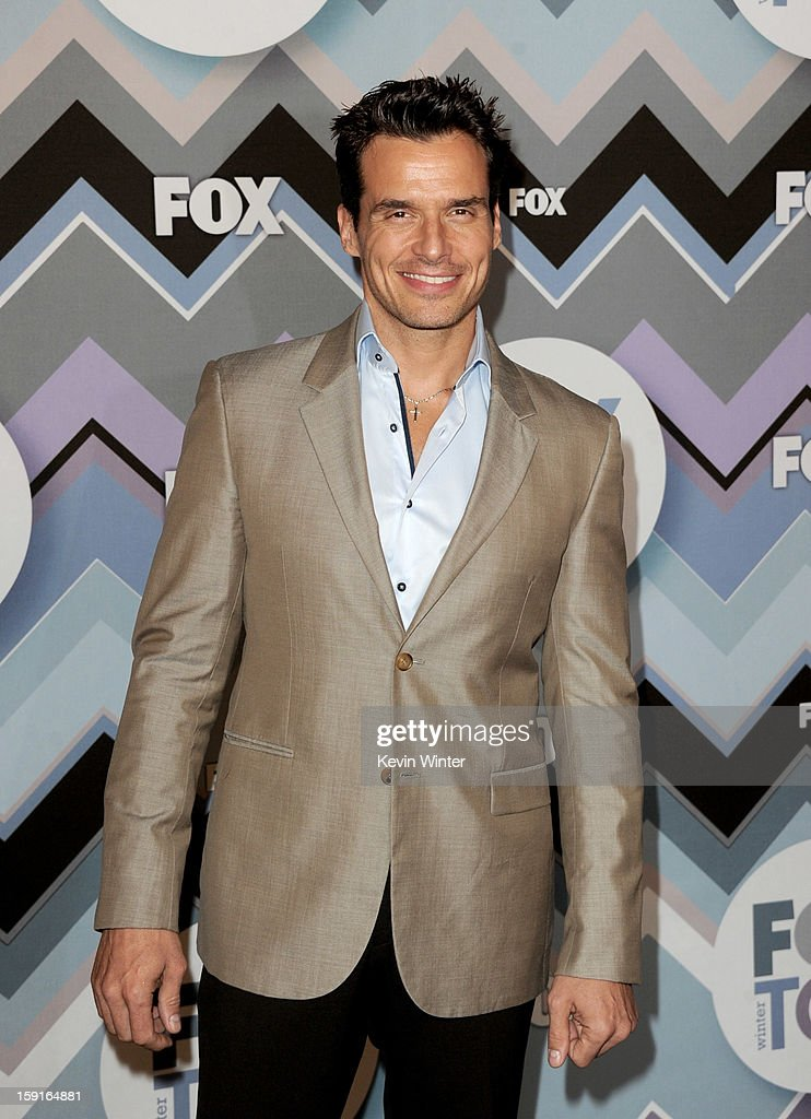 Actor <a gi-track='captionPersonalityLinkClicked' href=/galleries/search?phrase=Antonio+Sabato+Jr.&family=editorial&specificpeople=211332 ng-click='$event.stopPropagation()'>Antonio Sabato Jr.</a> arrives at the FOX All-Star Party at the Langham Huntington Hotel on January 8, 2013 in Pasadena, California.