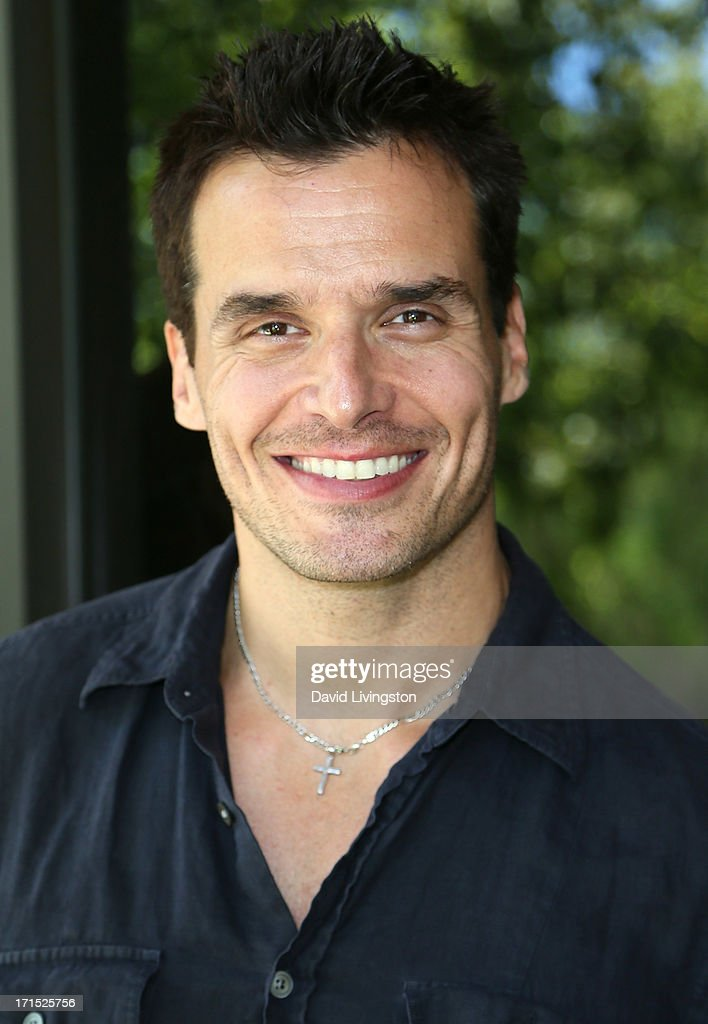 Actor Antonio Sabato Jr. celebrates the 25th anniversary of Debbie Gibson's 'Foolish Beat' at Antonio Sabato Jr.'s acting camp on June 25, 2013 in Westlake Village, California.