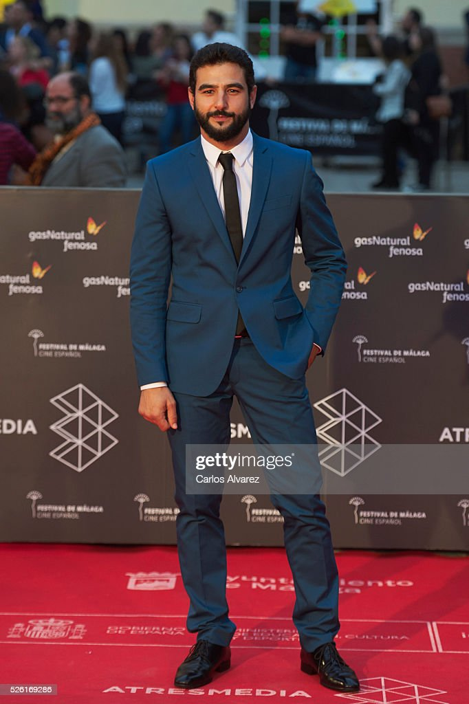 Actor Antonio Velazquez attends 'Koblic' premiere at the Cervantes Teather during the 19th Malaga Film Festival on April 29, 2016 in Malaga, .