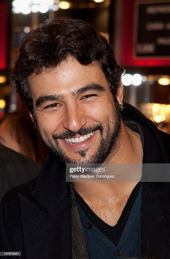 Actor Antonio Velazquez attends La Oreja de Van Gogh concert at Arteria Coliseum Theatre on January 24, 2012 in Madrid, Spain.