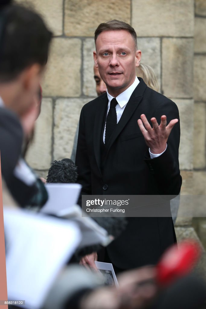 Actor Antony Cotton after the funeral of actress Liz Dawson at Salford Cathedral on October 6, 2017 in Salford, England. Actress Liz Dawn who died aged 77, played Vera Duckworth in Coronation Street for 34 years. She was diagnosed with lung disease emphysema and was written out of the show in 2008 at her own request.