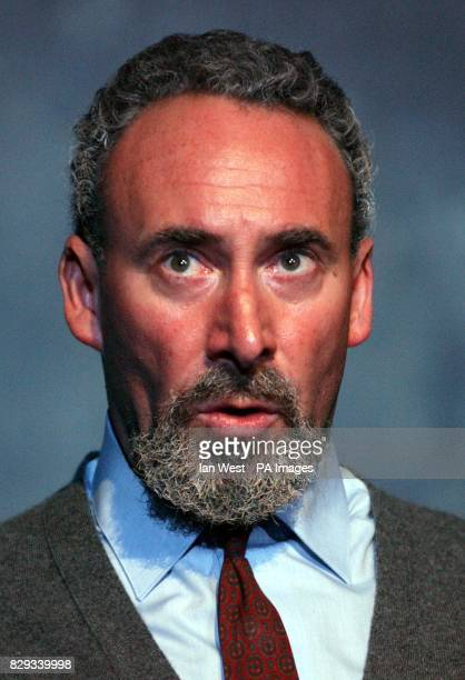 Actor Antony Sher during a photocall for the play 'Primo' adapted from Primo Levi's 'If This Is A Man' at the National Theatre South Bank in central...