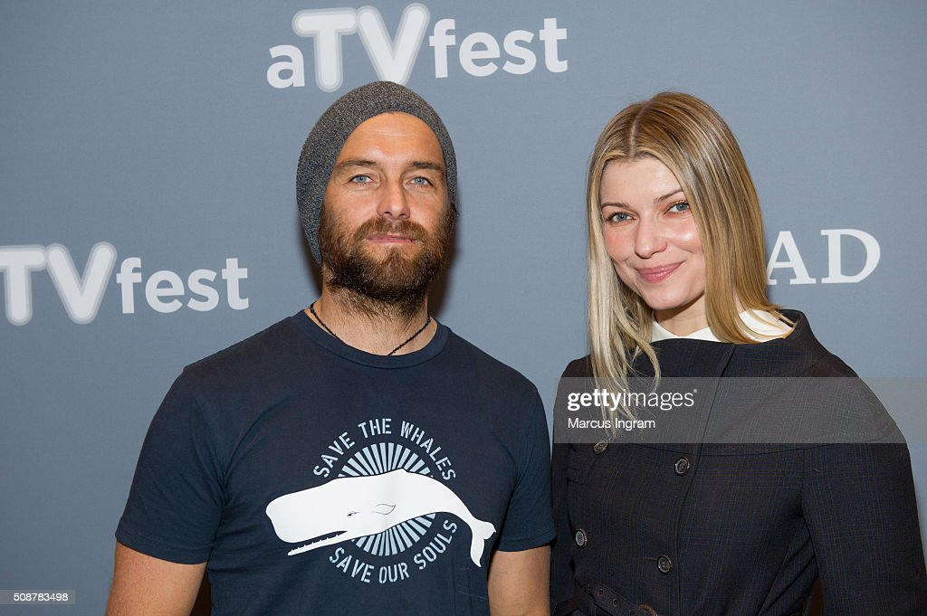 Actor Antony Starr and actress <a gi-track='captionPersonalityLinkClicked' href=/galleries/search?phrase=Ivana+Milicevic&family=editorial&specificpeople=2529749 ng-click='$event.stopPropagation()'>Ivana Milicevic</a> attend 'Banshee' event during SCAD aTVfest 2016 Day 3 at the Four Seasons Atlanta Hotel on February 6, 2016 in Atlanta, Georgia.