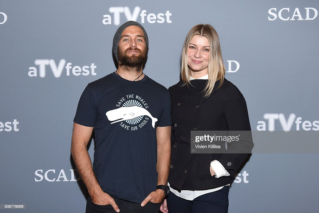 Actor Antony Starr and Actress <a gi-track='captionPersonalityLinkClicked' href=/galleries/search?phrase=Ivana+Milicevic&family=editorial&specificpeople=2529749 ng-click='$event.stopPropagation()'>Ivana Milicevic</a> attend the 'Banshee' event during aTVfest 2016 presented by SCAD on February 6, 2016 in Atlanta, Georgia.