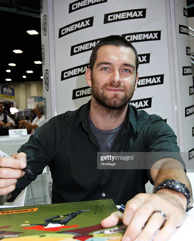 Actor Antony Starr attends Cinemax's 'Banshee' cast autograph signing at San Diego Convention Center on July 19, 2013 in San Diego, California.