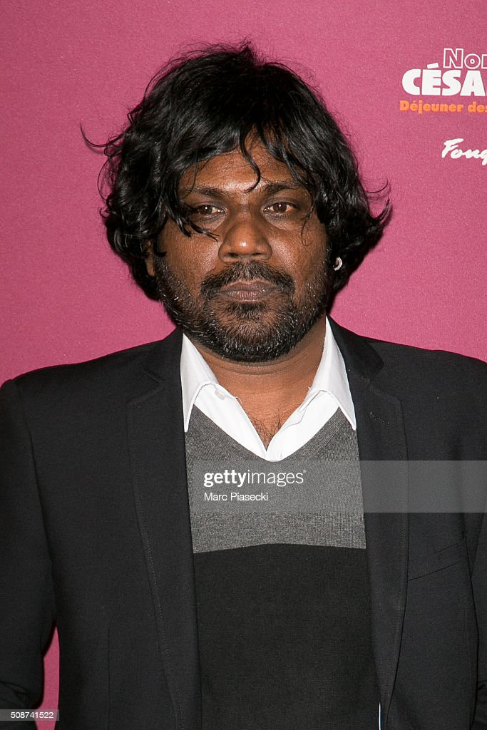 Actor Antonythasan Jesuthasan attends the 'Cesar 2016- Nominee luncheon' at Le Fouquet's on February 6, 2016 in Paris, France.